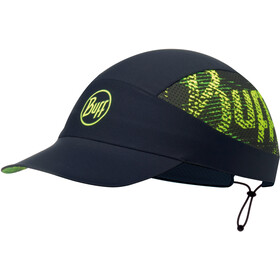 Buff Pack Run Gorra, r-flash logo black